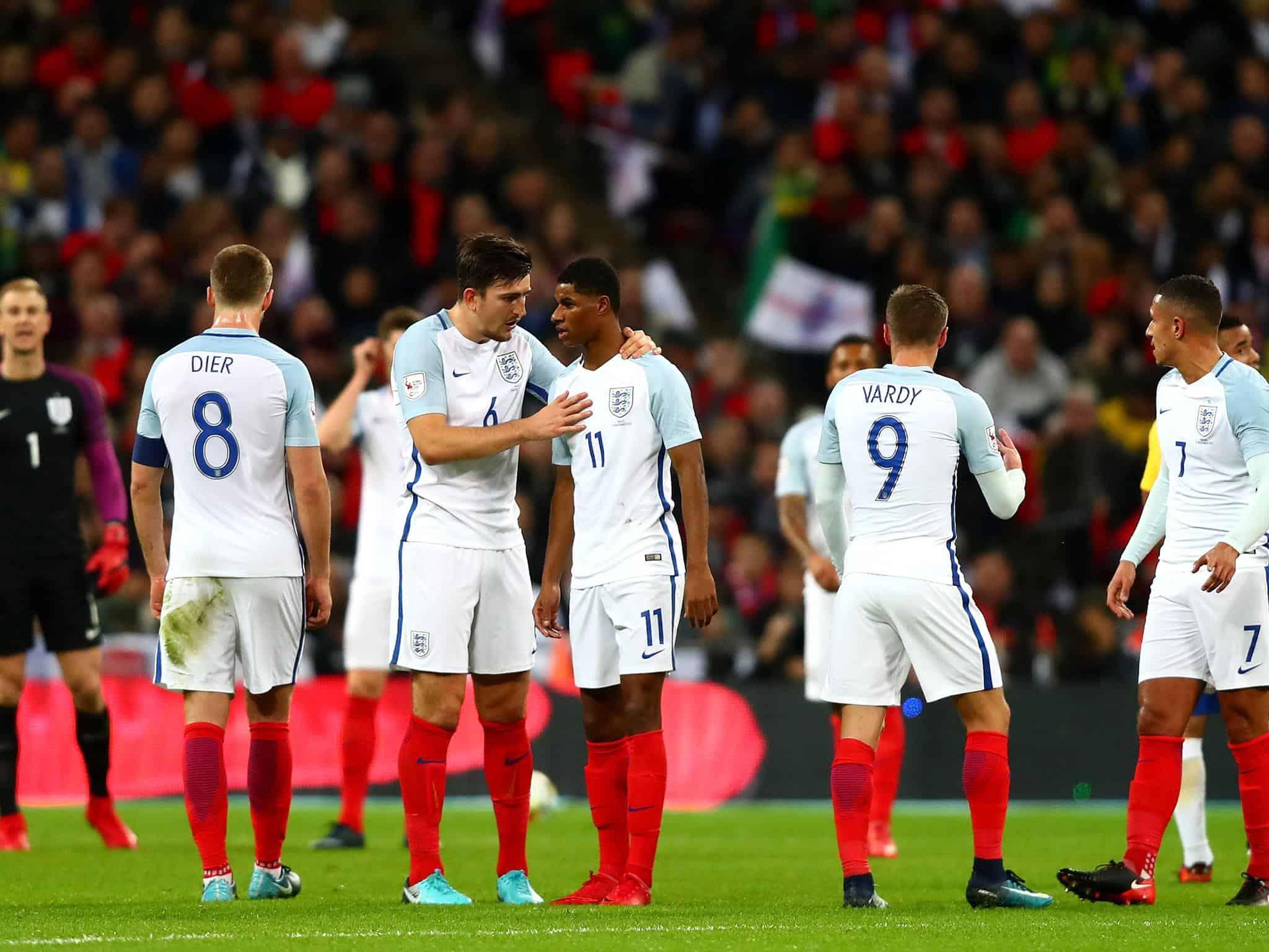 Tim Sepakbola Inggris 1990 dan tidak pernah absen hingga tahun 2014 walaupun tidak pernah lebih dari bebak perempat Final saja musim gugur tahun 2014. Di Laga kali ini akan menjadi tim tamu yang akan datang </p> <p><img class=