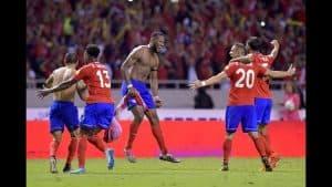 Kosta Rika Football Team ( 2 )