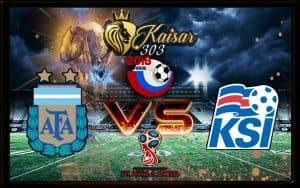 Prediksi Skor Argentina Vs Iceland 16 Juni 2018