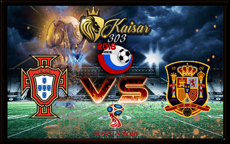 Prediksi Skor Portugal vs Spanyol 16 Juni 2018