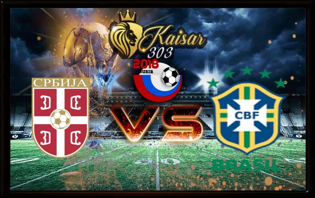 Memprediksi skor Serbia Vs Brasil 28 Juni 2018