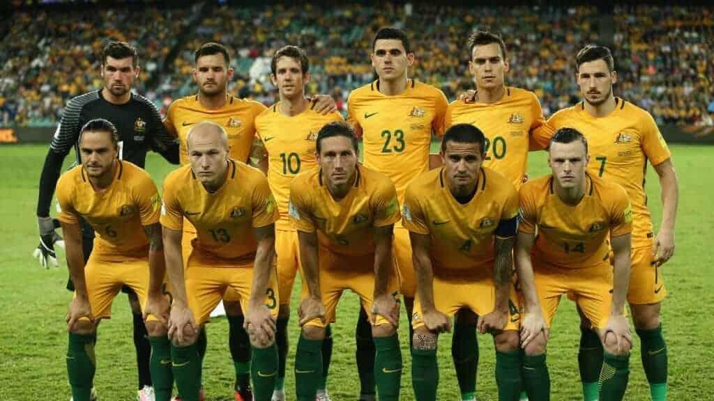 AUSTRALIA Team Football 2018