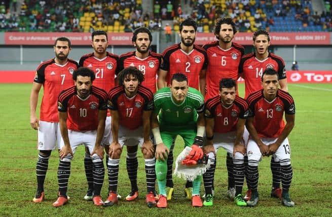 Tim Sepak Bola EGYPT 2018