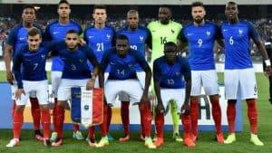 FRANCE Team Football 2018