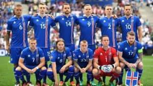 ICELAND team football 2018