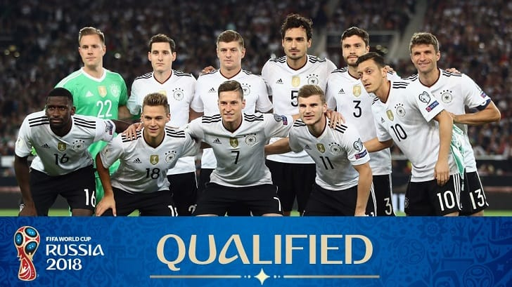 Jerman Football Team