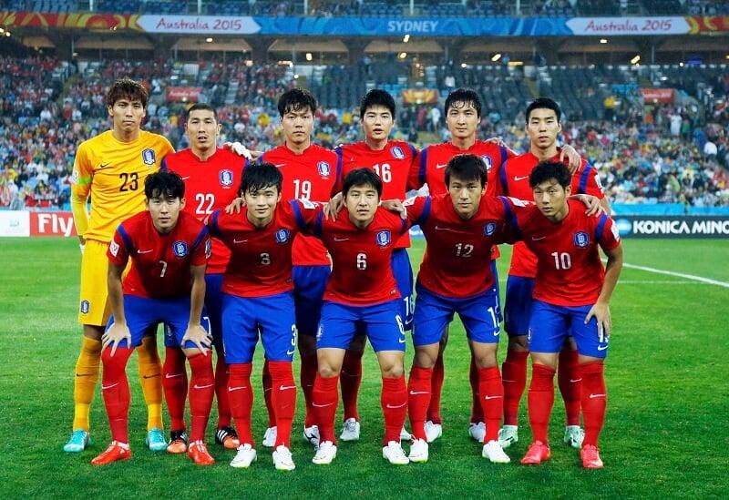 KOREA REPUBLIK Tim Sepakbola 2018