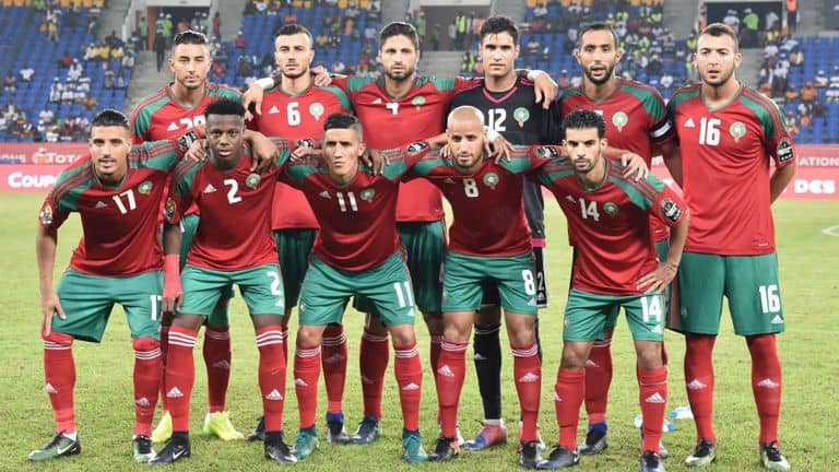 MOROCCO Team Football 2018