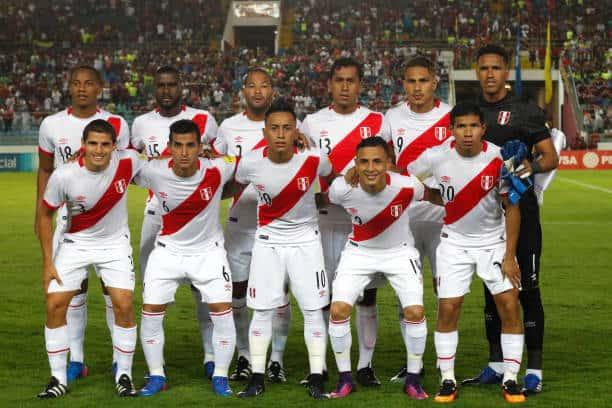 PERU Tim Sepak Bola 2018