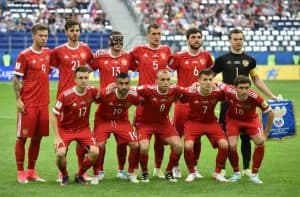 RUSSIA Team Football 2018