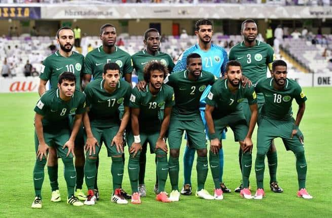 SAUDI ARABIA Tim Sepak Bola 2018