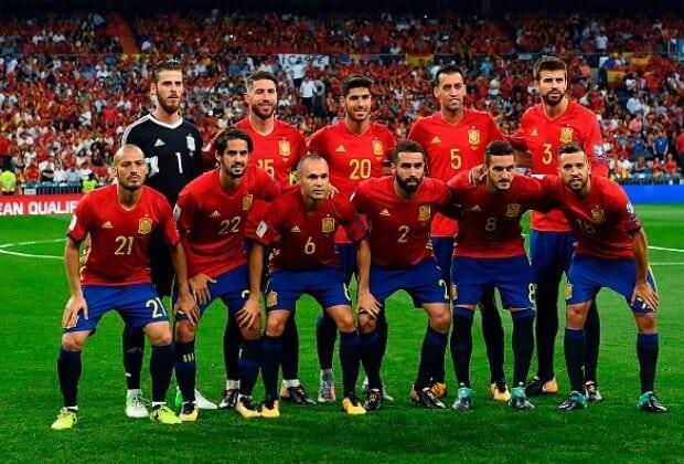 Tim sepak bola SPAIN 2018