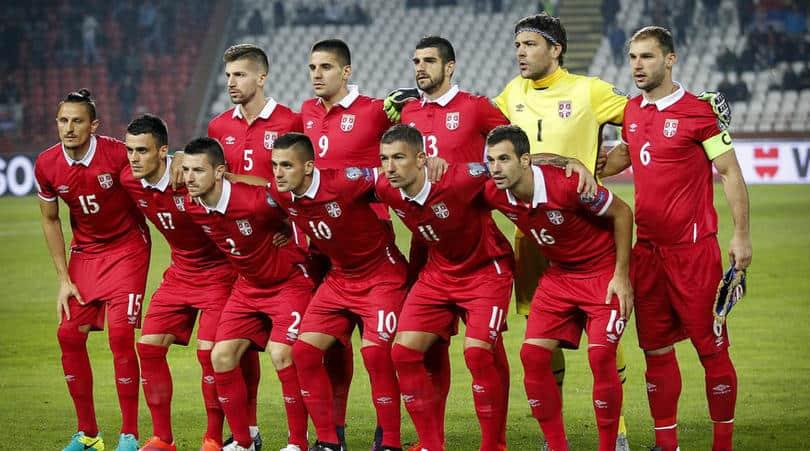 Tim Sepakbola Serbia