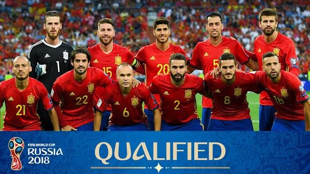 Tim Sepakbola Spanyol