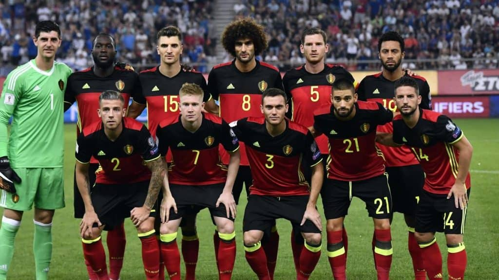 Tim Sepakbola Belgia