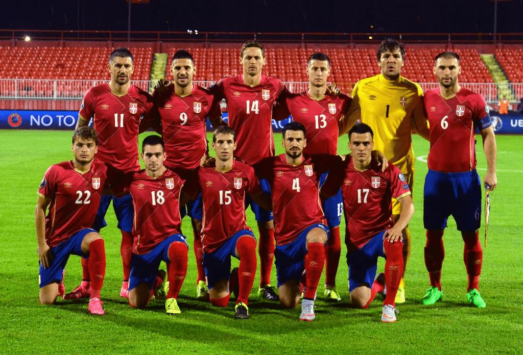 Serbia Football tea