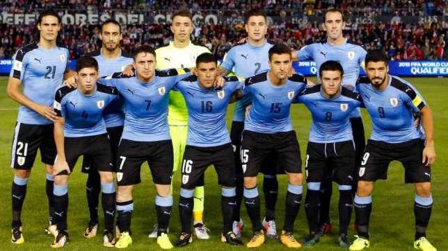 URUGUAY Team Football 2018