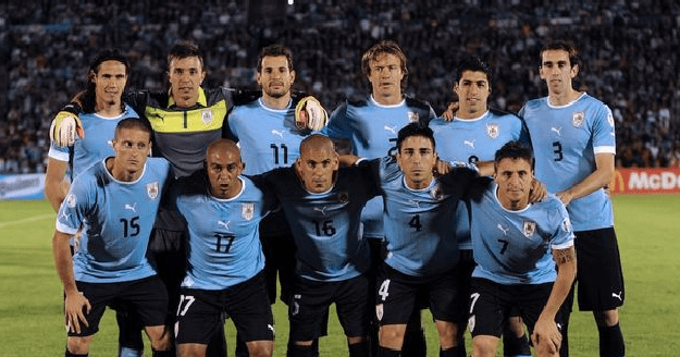URUGUAY Team Football 2018